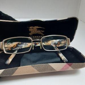 Dolce & Gabbana 1182 gold frame glasses w/ case